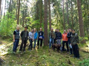 """Lehrveranstaltung """"Waldinventur und Forstmanagement"""""""