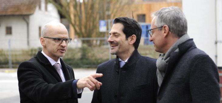Antrittsbesuch Präsident Hofmanns am TUM Campus Straubing