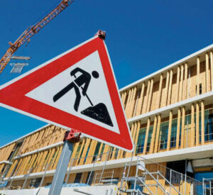 Bauarbeiten am neuen TUMCS-Gebäude