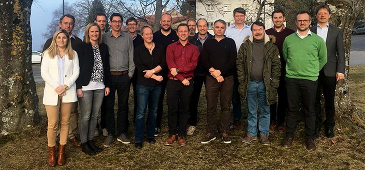 Gruppenfoto Professoren des TUMCS, Stand Mai 2020