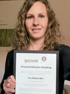Wissenschaftspreisträgerin Dr. Barbara Beer