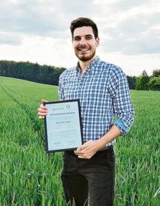 Wissenschaftspreisträger Simon Pickart