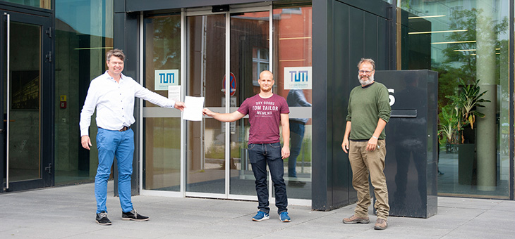 Novum: Erster TUM-BWL-Absolvent am Campus