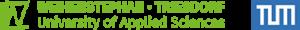 Logos HSWT, TUM