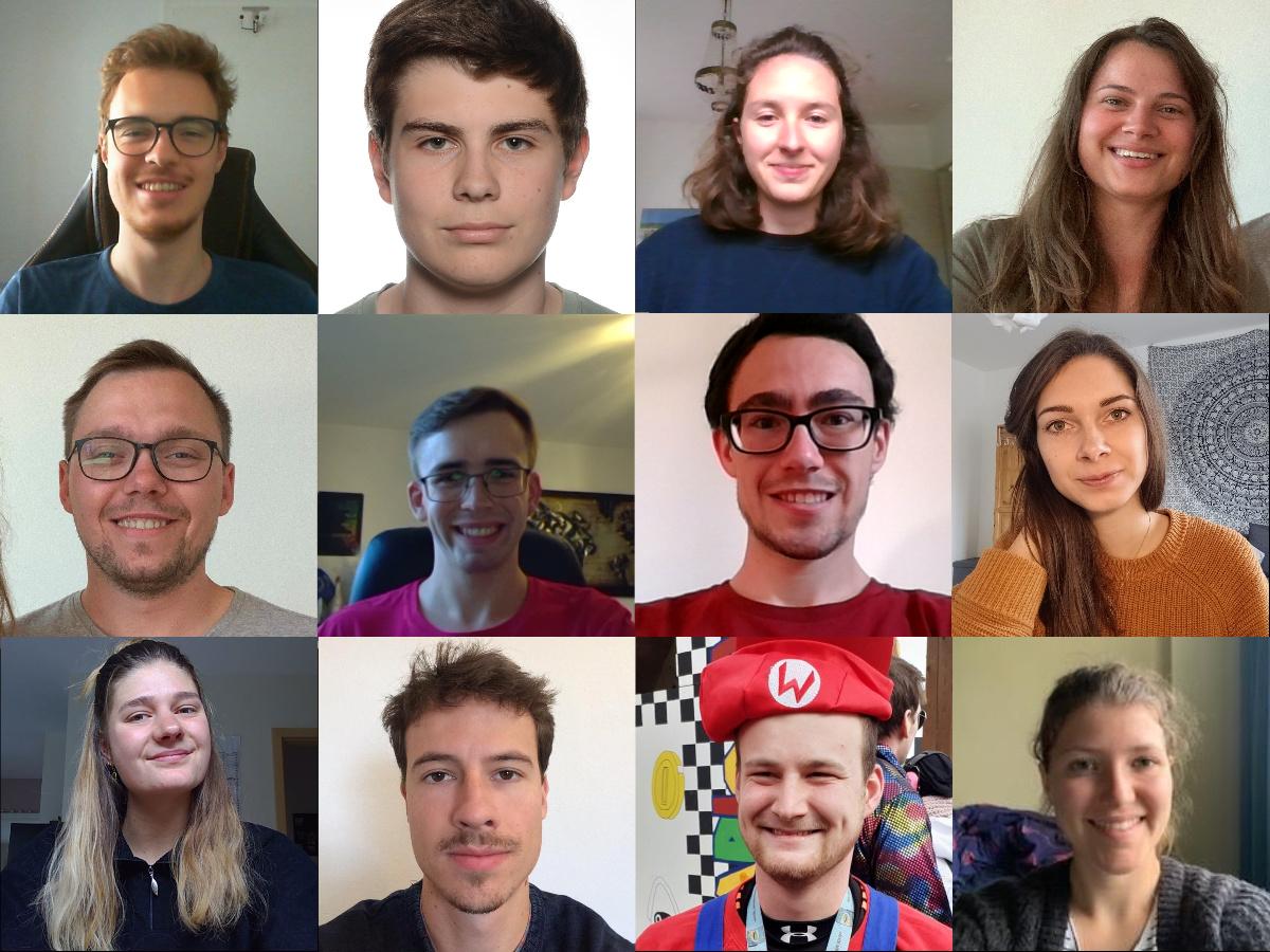 Collage: Fachschaft 2020/2021
