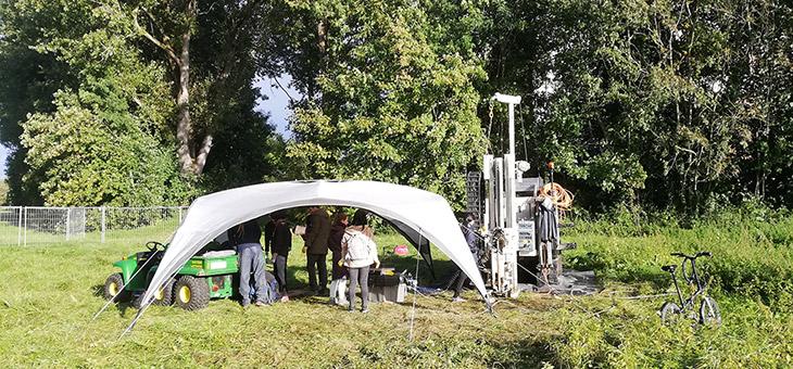 Vorerkundungen für Geothermie-Testfeld am Donauufer