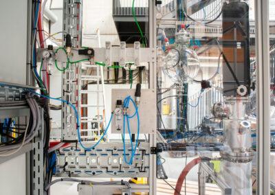 Detail der OME-Anlage