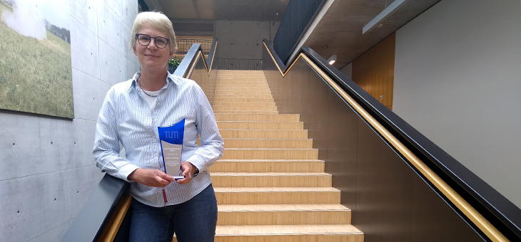 Petra Lommes erhält TUM Arbeitsschutzpreis 2020