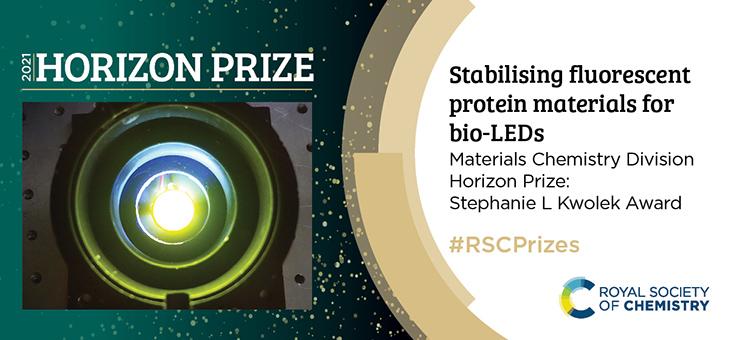 Protein-based Lighting Team Wins Royal Society Of Chemistry's Prestigious New Horizon Prize