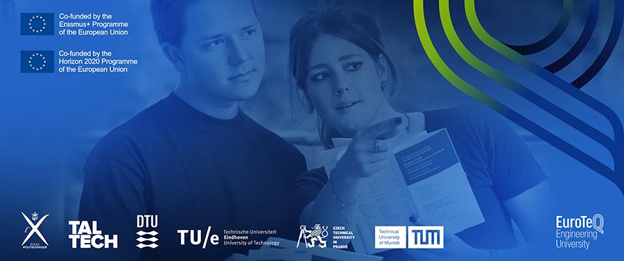 EuroTeQ – Gemeinsame Kurse im Wintersemester 2021/22 mit Beteiligung des TUM Campus Straubing