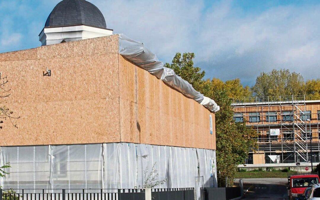 Neuer Dachstuhl steht bis Ende des Jahres